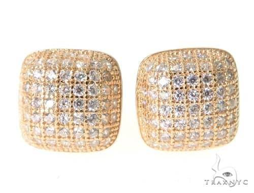 Silver Earrings 49859 Metal