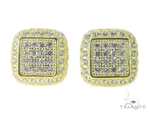 Silver Earrings 49860 Metal