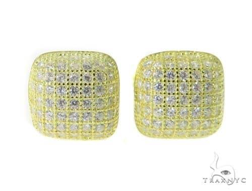 Silver Earrings 49863 Metal