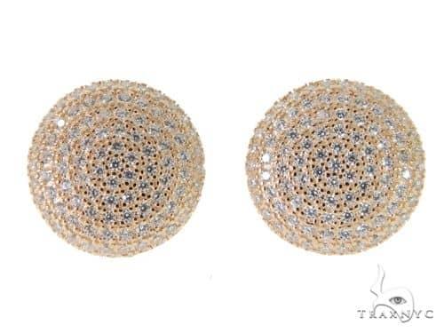 Silver Earrings 49887 Metal