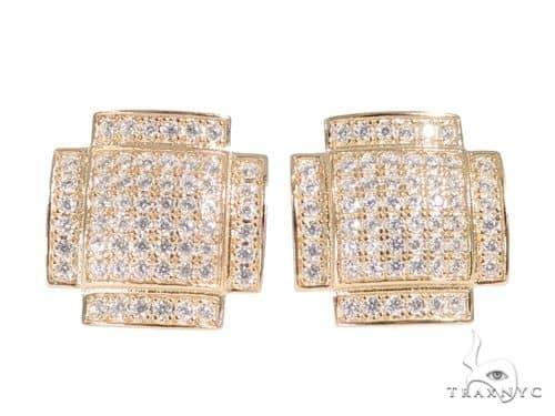 Silver Earrings 49879 Metal