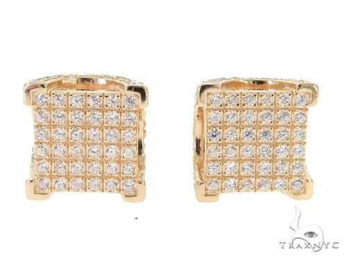 Silver Earrings 49894 Metal