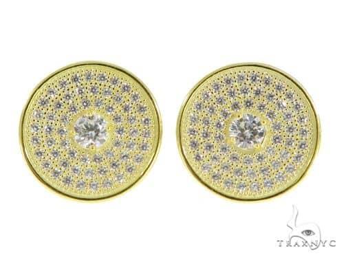 Silver Earrings 49899 Metal