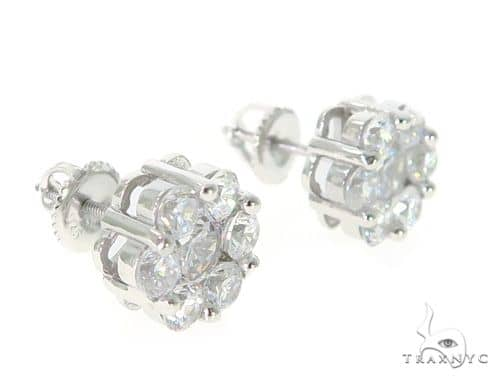 Silver Earrings 49901 Metal