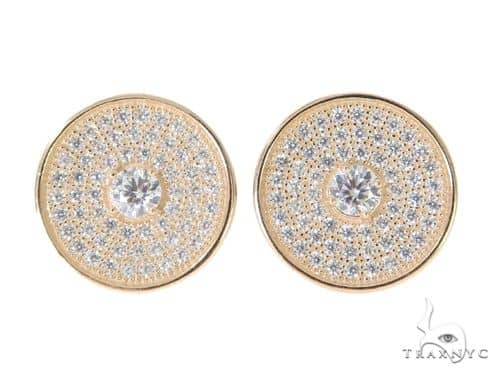 Silver Earrings 49903 Metal