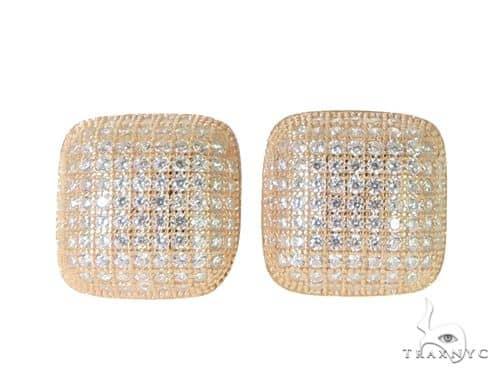 Silver Earrings 49905 Metal