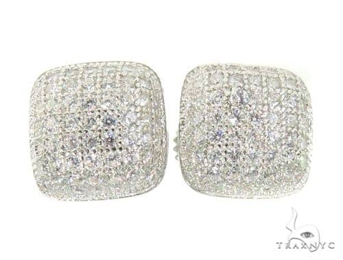 Silver Earrings 49858 Metal