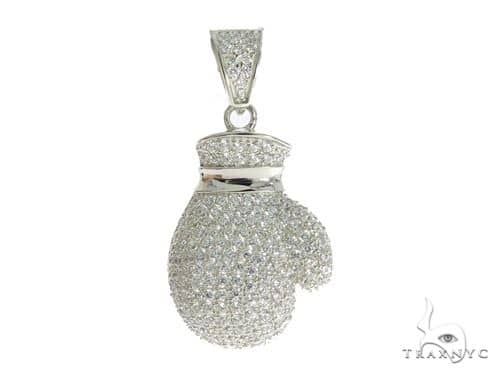 Globe Silver Pendant 56447 Metal