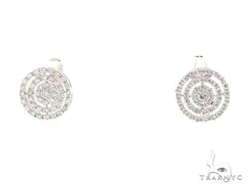 Prong Diamond Earrings 56493 Stone