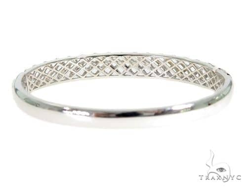 Prong Diamond Bangle Bracelet 56495 Diamond