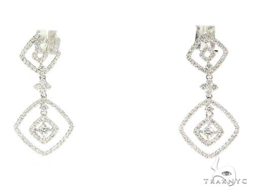 Prong Diamond Chadelier Earrings 56504 Style