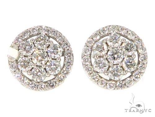 Prong Diamond Earrings 56507 Stone