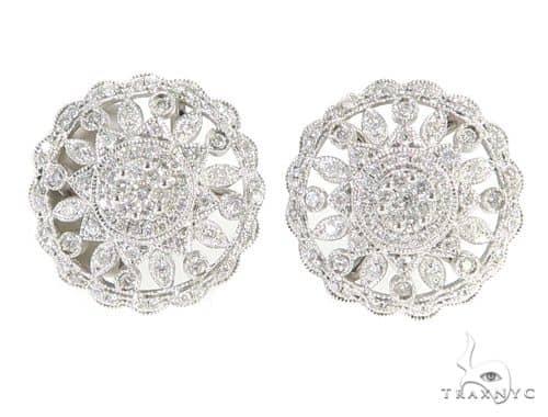 Prong Diamond Earrings 56511 Stone