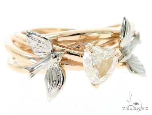 Love Doves Diamond Engagement Ring 45567 Engagement