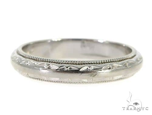 14K White Gold Band 56808 Anniversary/Fashion