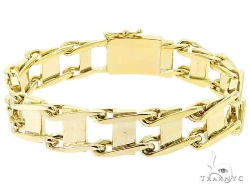 10K Yellow Gold Bracelet 56830 Gold