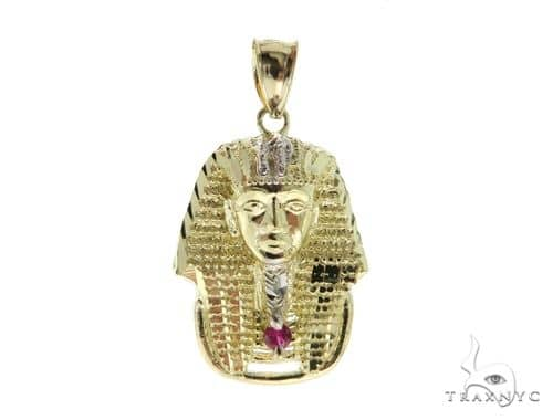 10K Yellow Gold Small Pharaoh Pendant 56879 Metal