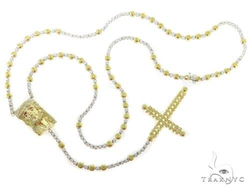 Custom Yellow Diamond Rosary 45620 Rosary