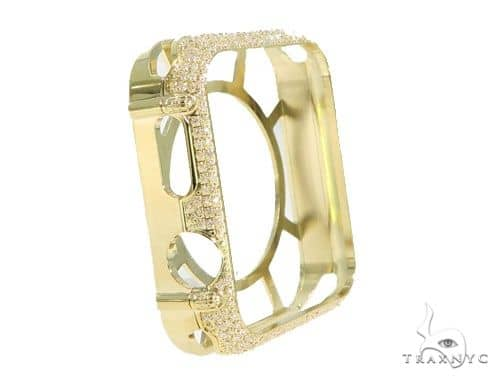 iPhone Diamond Watch Case Yellow 45622 Watch Accessories