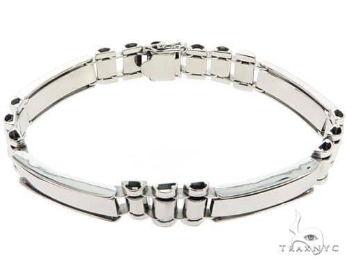 10K White Gold Bracelet 56915 Gold