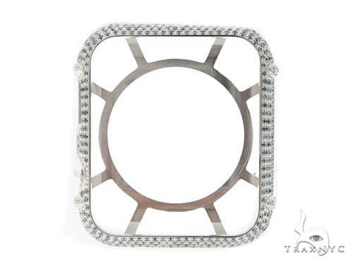 iPhone Diamond Watch Case White 45625 Watch Accessories