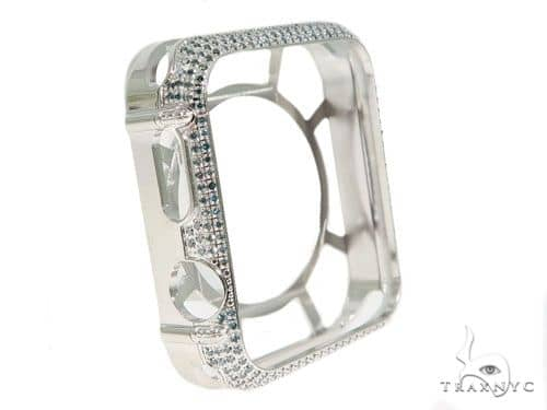 iPhone Diamond Watch Case White 45625 Watch Accessories