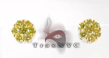 Canary Flower Earrings 2 5350 Style