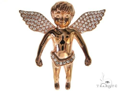 Silver Angel Pendant 57010 Metal