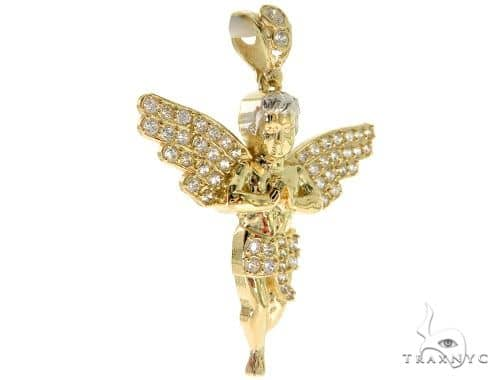 Angel Gold Pendant 49608 Style