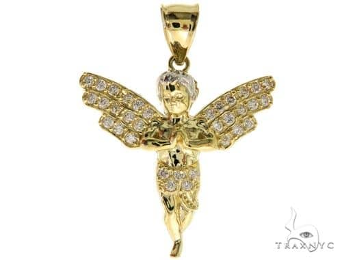 Angel Gold Pendant 43051 Metal