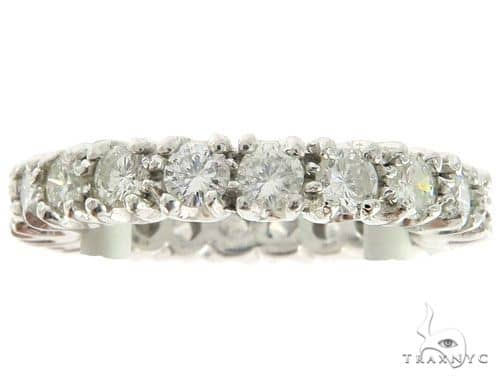 Platinum Prong Diamond Eternity Ring 57198 Anniversary/Fashion