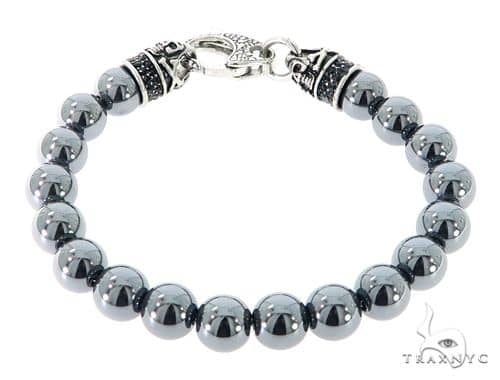 Grey Hematite Bracelet 57424 Stainless Steel