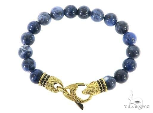 Sodalite Bracelet 57433 Stainless Steel