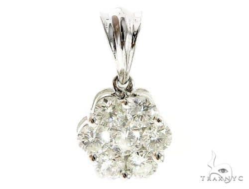 Cluster Diamond Pendant 49643 Stone