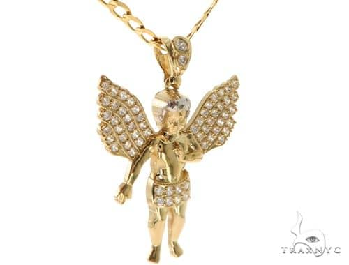 Angel Pendant Chain Set 58410 Style