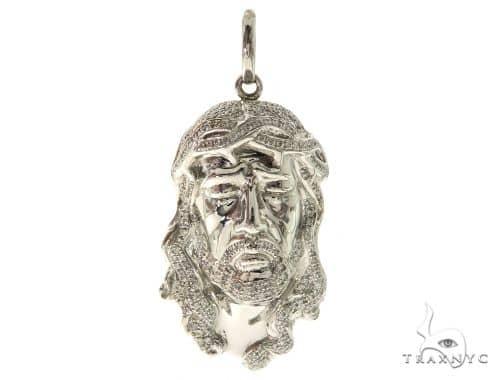 Jesus Diamond Pendant 58533 Style