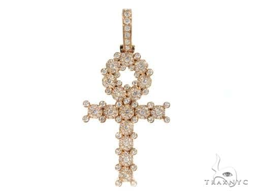Prong Diamond Cross Crucifix 58601 Diamond