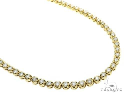 Custom Jewelry - Diamond Chain 26 Inches 6mm 52.8 Grams 61363 Diamond