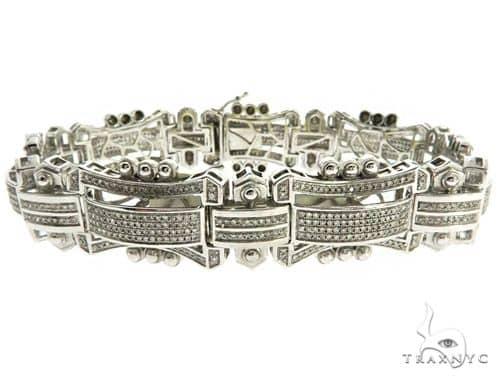 Mens Pave Diamond Bracelet 61770 Diamond