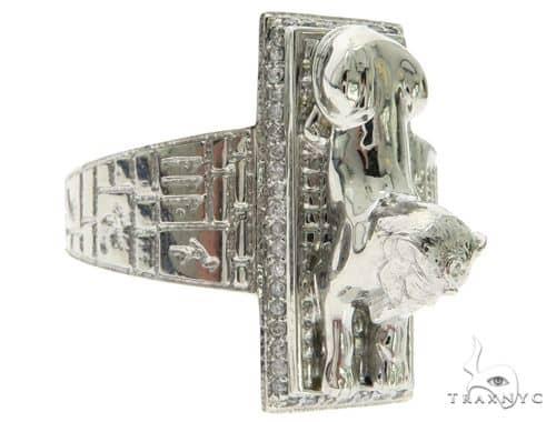 TraxNYC Custom Made Great Sphinx of Giza Diamond Ring 63071 Stone