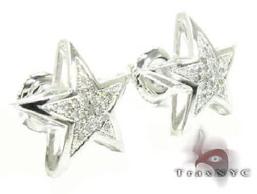 Mini Star Earrings 2 63421 Stone