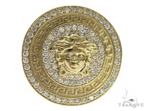 Light Medusa Diamond Ring 61562 Stone