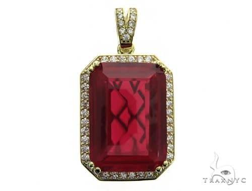Hot Red Tresaure Gold Pendant 49585 Metal