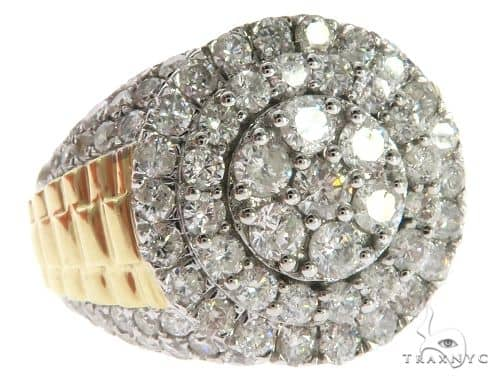 10K Yellow Gold Micro Pave Prong Diamond Ring 63635 Stone
