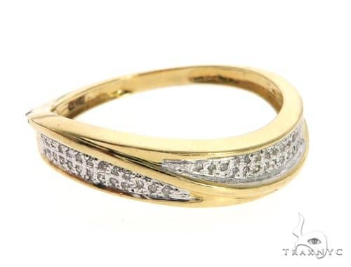 14K Yellow Gold Micro Pave Diamond Ring 63639 Anniversary/Fashion