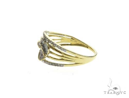 14K Yellow Gold Micro Pave Diamond Butterfly Ring 63648 Anniversary/Fashion