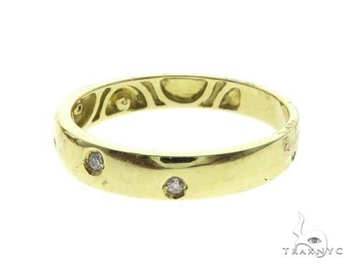 14K Diamond Wedding Band 63665 Style
