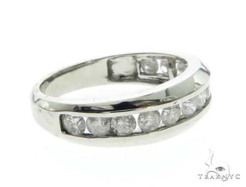 14K White Gold Micro Pave Diamond Ring 63668 Style
