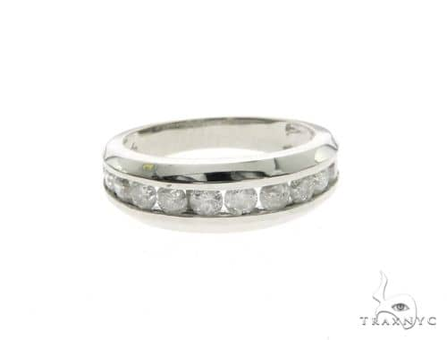 14K White Gold Micro Pave Diamond Ring 63668 Style