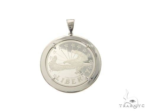 Liberty White Pendant 63700 Metal